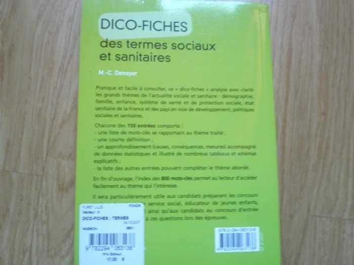 livre dico-fiches des termes sociaux et sanitaires