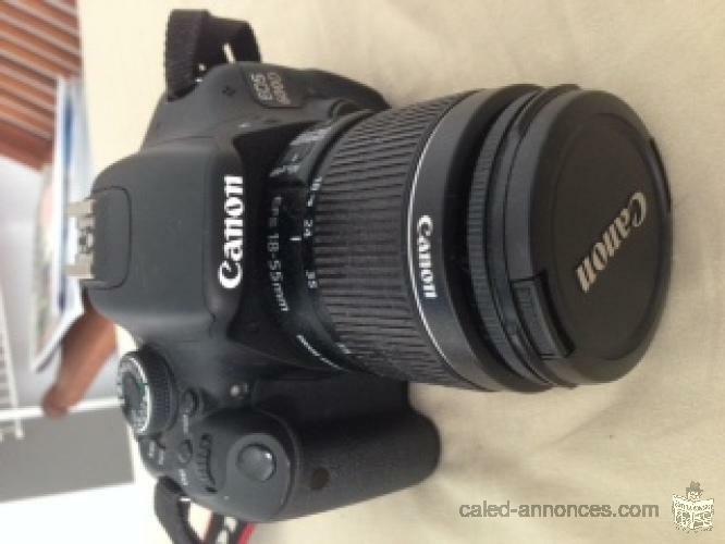 reflex canon E05 600D,